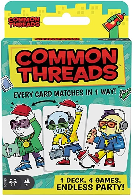 Virtual SLC Presents: Common Threads game with Zoe